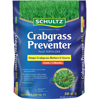 Schultz Phosphorus Free Crabgrass Preventer Plus Fertilizer
